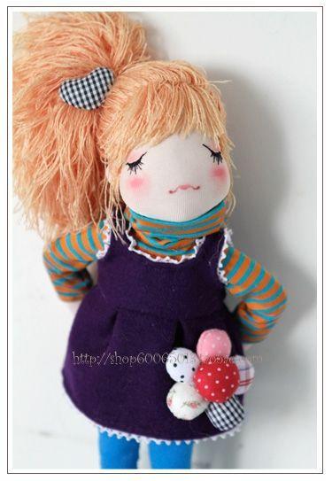 Linda muñeca con pichi