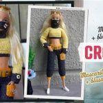 Ropa tejida a crochet para la muñeca Barbie