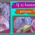 DIY Pelucas para muñecas fácil paso a paso