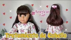 Tratamiento de cabello para muñecas