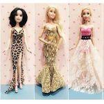 5 vestidos para muñecas Barbie muy fácil 👗