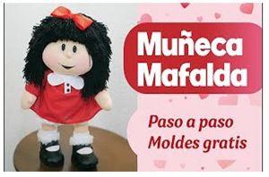 DIY Muñeca de tela Mafalda patrón