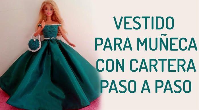 Vestido de fiesta para muñecas Barbie o similar