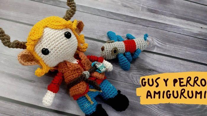 DIY Gus Sweet Tooth en amigurumi