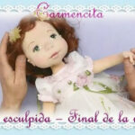 Muñeca de tela Carmencita DIY paso a paso