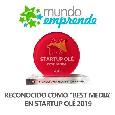 Premio Startup Olé 2019 Best Media