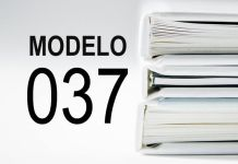 rellenar modelo 037