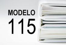 rellenar modelo 115