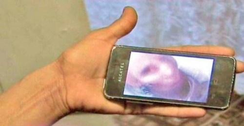"""selfie abuela fallecida Mujer rumana recibe un """"selfie"""" de su abuela fallecida desde el más allá"""
