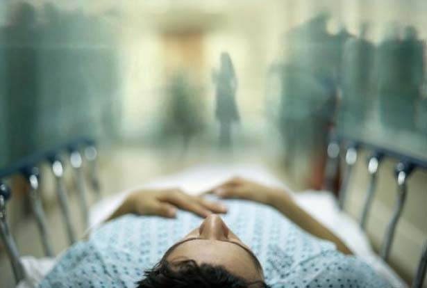 Visiones fantasmales momento muerte