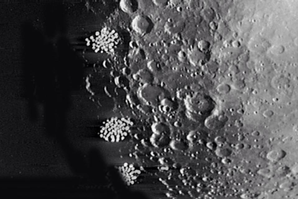 Bases extraterrestres cara oculta de la Luna