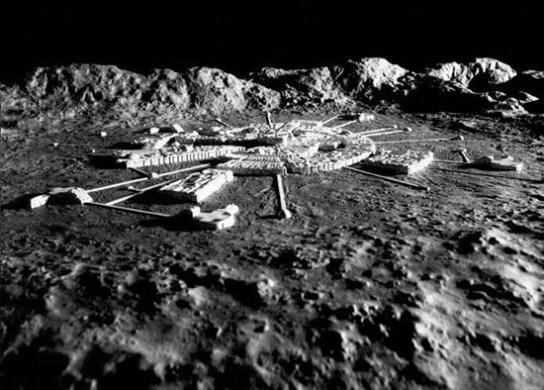 Resultado de imagen de extraterrestres luna