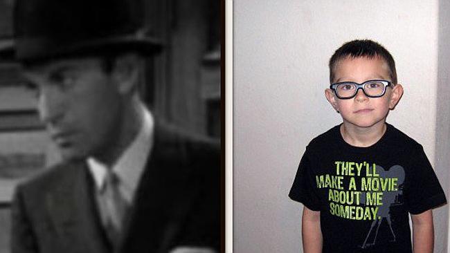 Niño 10 años vida pasada Hollywood