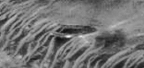 Ovni accidentado Marte