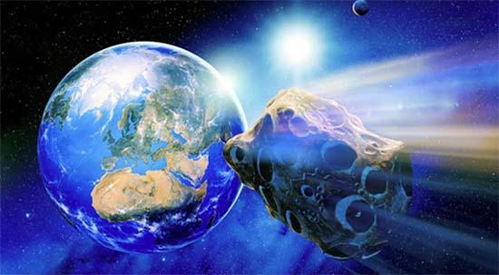 Cometa dirigiendo Tierra