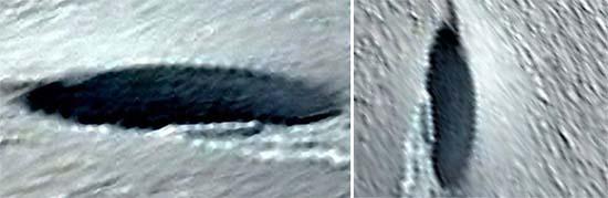 Google Earth ovni estrelló Antártida