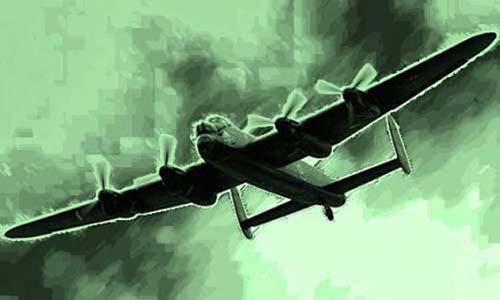 Bombardero fantasma de la Segunda Guerra Mundial