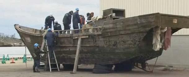 Aparecen barcos fantasmas en las costas de Japón con cadáveres y esqueletos sin cabeza