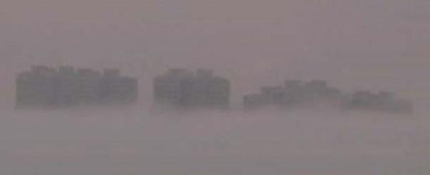 Otra misteriosa ciudad flotante aparece sobre China, ¿evidencia de universo paralelo?