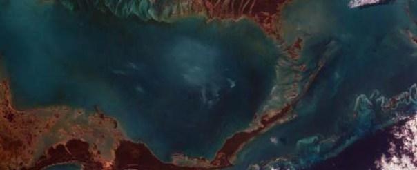 Satélites detectan un extraño sonido no audible procedente del mar Caribe