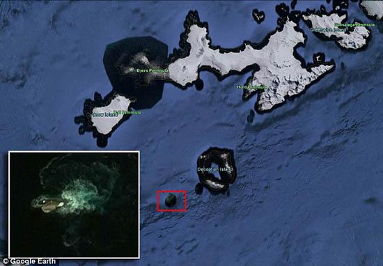 légendaire kraken google earth - Trouvez le légendaire Kraken via Google Earth