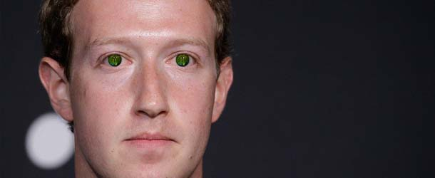 Mark Zuckerberg asegura que no es un reptiliano