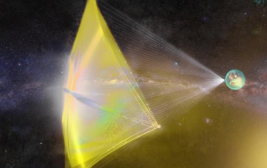 mysterious cosmic signals are to propel extraterrestrial ships