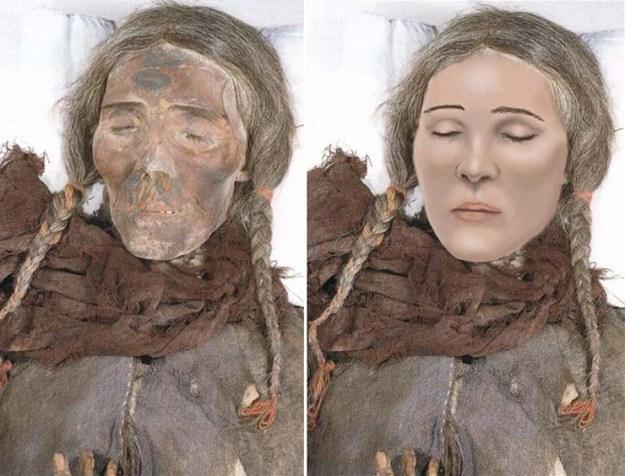 misteriosas momias europeas de china - Las misteriosas momias europeas de China