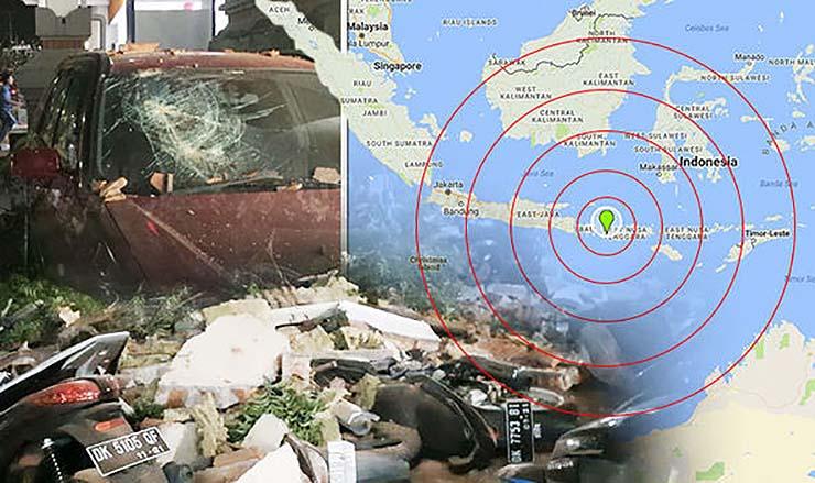 luna sangre fuerte terremoto indonesia - Se cumplen las predicciones de la Luna de Sangre: Fuerte terremoto en Indonesia y habrá otro mucho más destructivo en los próximos meses