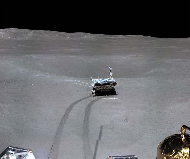 Una foto demuestra que el alunizaje de la sonda china Chang'e-4