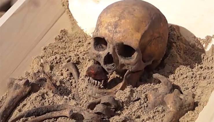vrai vampire - Les scientifiques recréeront en 3D le visage d'un vrai vampire du 18ème siècle