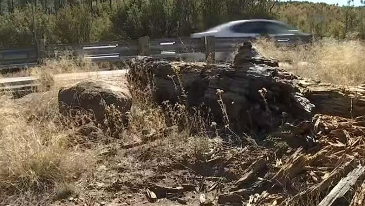 giant rock disappears arizona - A giant rock mysteriously disappears and reappears in Arizona Wizard Rock