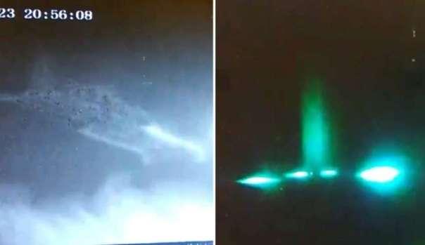 ovni california 850x491 - Un vigilante de seguridad se sorprende al ver un OVNI despegando de una construcción en California