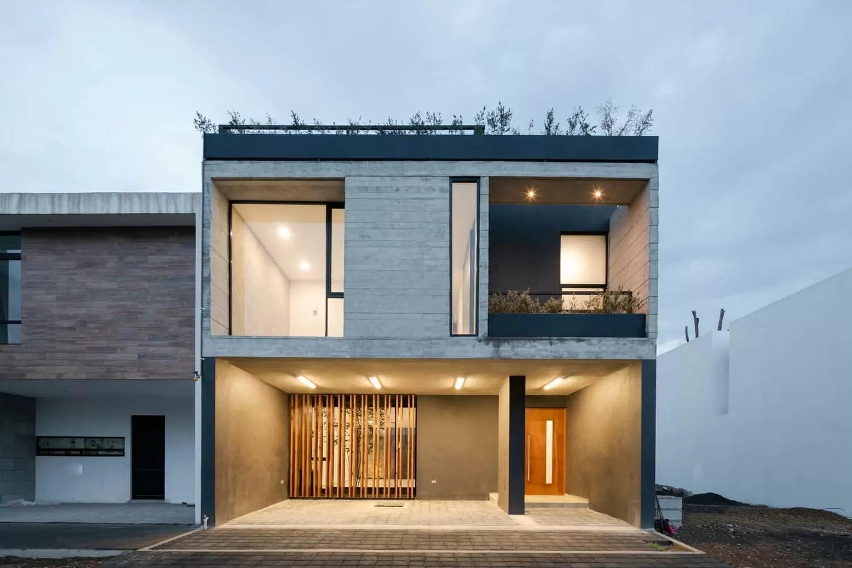 Diseo de casa rstica moderna con planos e interiores  Mundo Fachadas