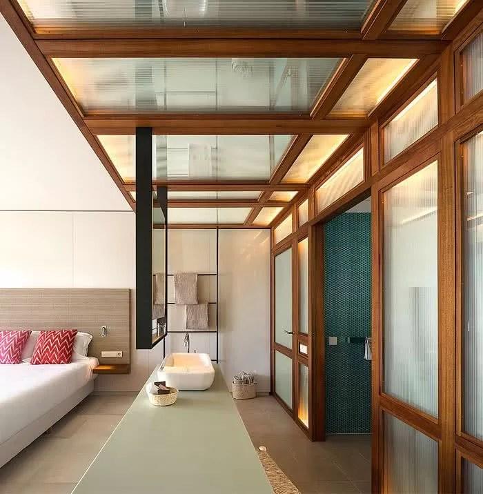 Diseo de dormitorios modernos retro y con bao en suite