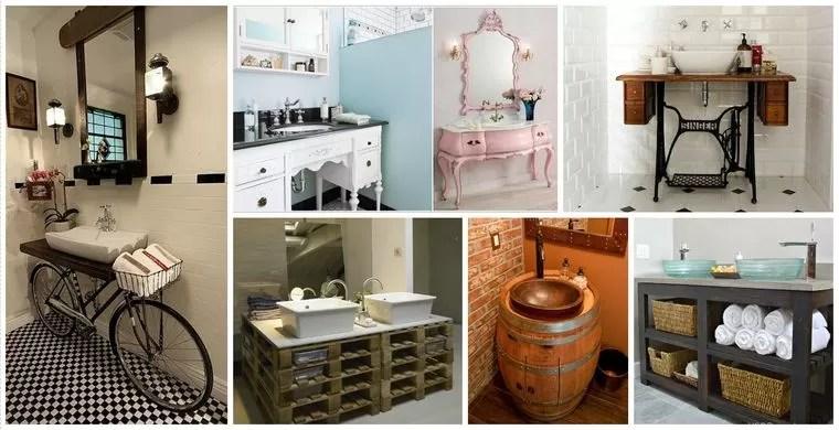 Diy Ideas To Reuse Your Bathroom Vanity World Facades