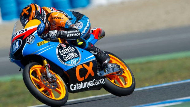 Monlau Team 2012 Test Moto2 and Moto3 Jerez