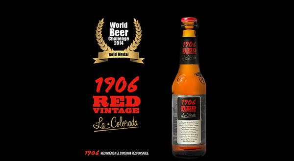 RED VINTAGE WORLD BEER CHALLENGE