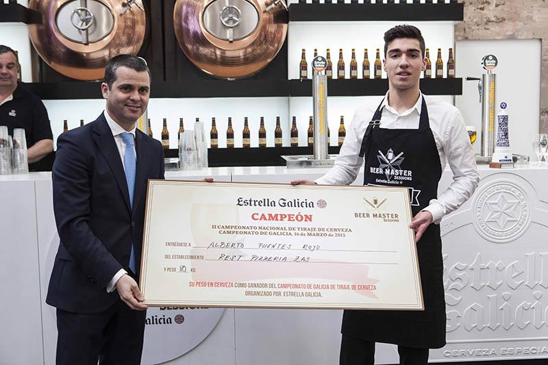 Campeón Beer Master Galicia