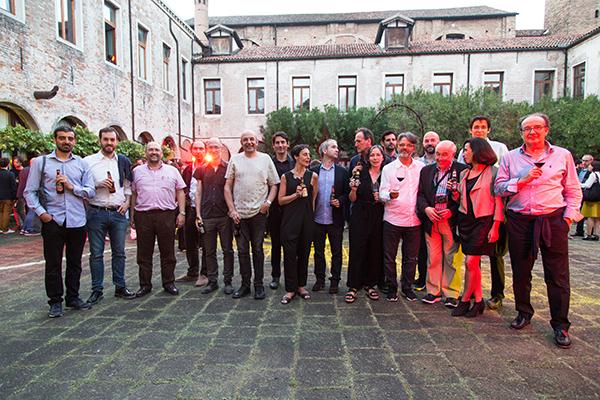 Brindis Hijos de Rivera Bienal Venecia