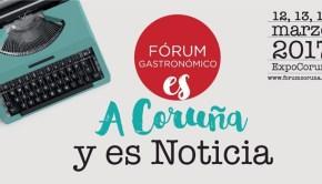 Cartel Fórum Gastronómico