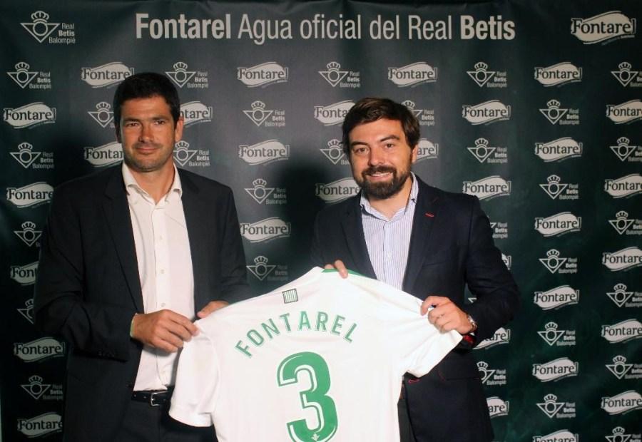 Fontarel, agua oficial del Real Betis