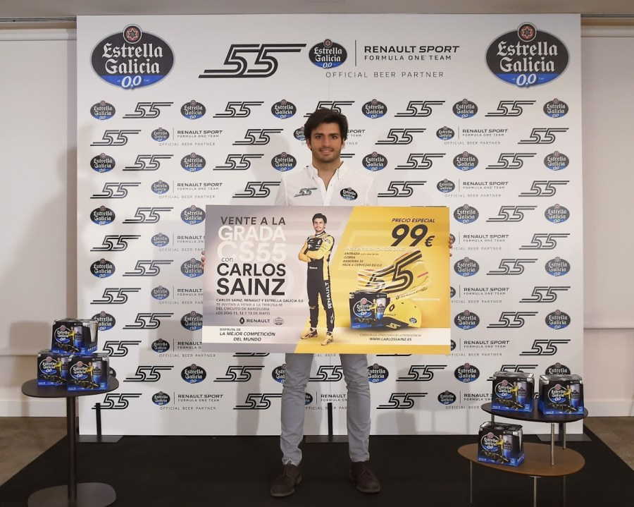 Carlos Sainz evento Madrid