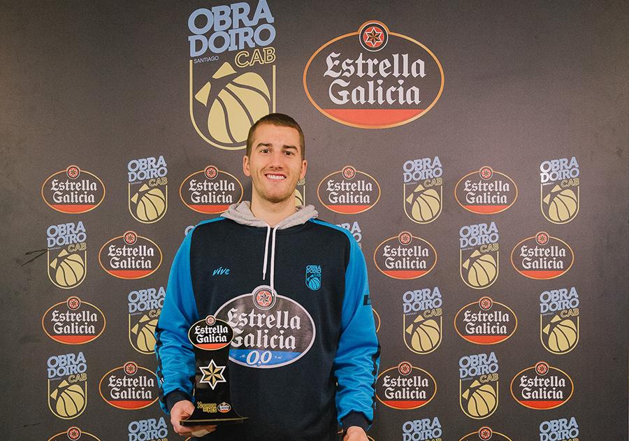 Matt Thomas - Jugador Estrella Galicia febrero
