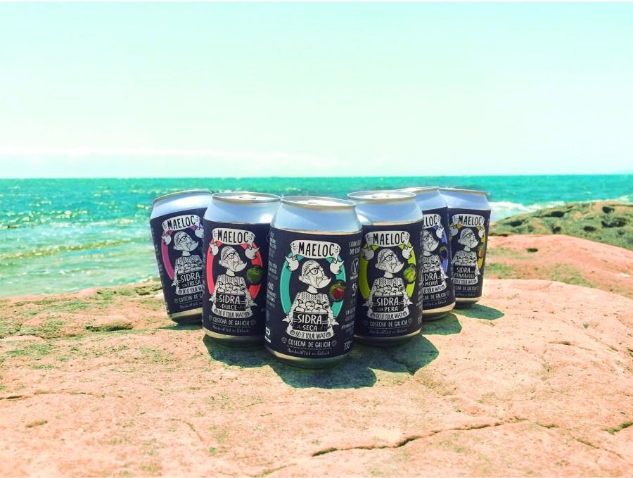 Sidras de sabores Maeloc - formato lata