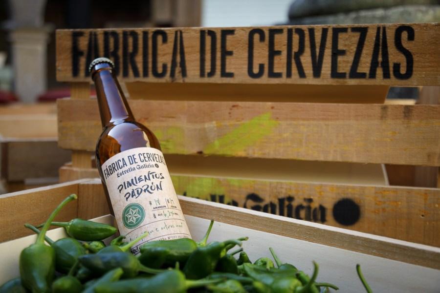 Fábrica de Cervezas Estrella Galicia Pimientos de Padrón