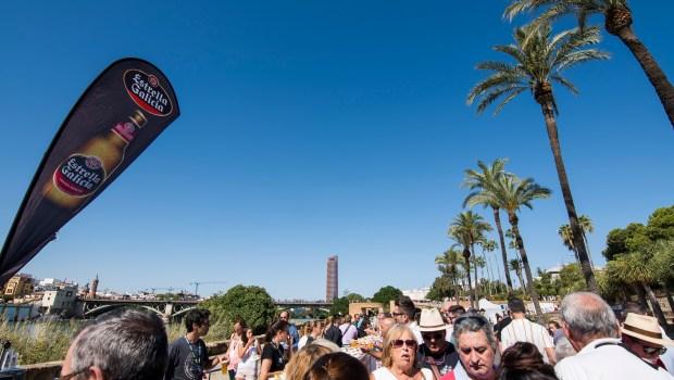 Estrella Galicia record Guinness barra de tapas