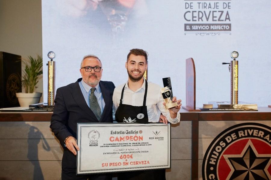 Mejor tirador de Valencia Manuel Barragán de GBM Coffee&Cocktail Club