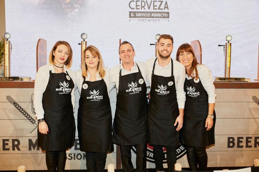 Cinco finalistas Campeonato de Tiraje Valencia