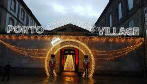 Mercadillo navideño Porto Christmas Village